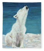 Polar Pup Fleece Blanket