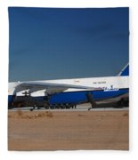 Polet Antonov An-124 Ra-82080 Phoenix-mesa Gateway Airport January 14 Fleece Blanket