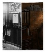 Police - The Private Eye - 1902 - Side By Side Fleece Blanket