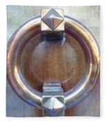 Polished Door Knocker Fleece Blanket