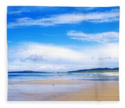 Pollan Strand, Inishowen, County Fleece Blanket
