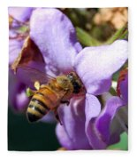 Pollinating 2 Fleece Blanket