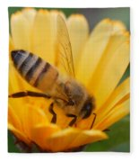 Pollination 2 Fleece Blanket
