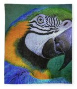 Polly Who Fleece Blanket