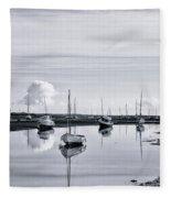 Reflections In A Creek  Fleece Blanket