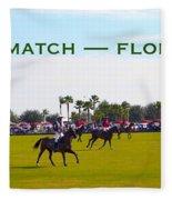 Polo Match Florida Fleece Blanket