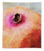 Pomegranate II Fleece Blanket
