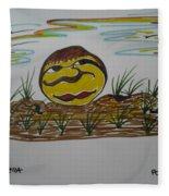 Pomme De Terre-potato-  Fleece Blanket