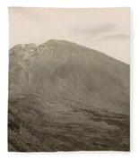 Pompeii: Mt. Vesuvius, C1890 Fleece Blanket