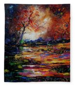 Pond 671254 Fleece Blanket