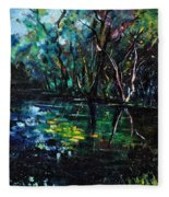Pond 944 Fleece Blanket