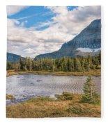 Pond At Nine Thousand Feet Fleece Blanket