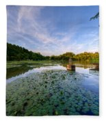 Pond Fleece Blanket