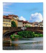 Ponte Santa Trinita Fleece Blanket