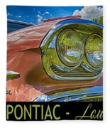 Pontiac 3 Fleece Blanket