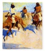 Pool In The Desert 1907 Fleece Blanket