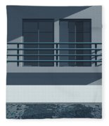 Pool Side Fleece Blanket
