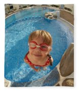 Pool Tester Fleece Blanket