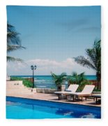 Poolside Fleece Blanket