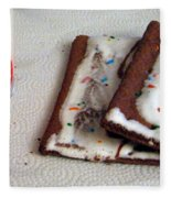 Pop Tarts And Milk Fleece Blanket