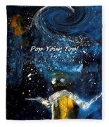 Pop Your Top By Lisa Kaiser Fleece Blanket