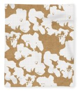 Popcorn- Art By Linda Woods Fleece Blanket