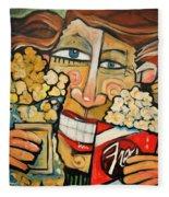 Popcorn Fleece Blanket
