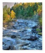 Poplar River  Fleece Blanket
