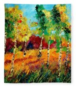 Poplars '459070 Fleece Blanket