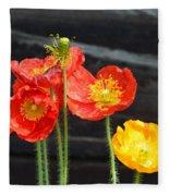 Poppies 17-01 Fleece Blanket