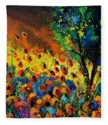 Poppies 456150 Fleece Blanket