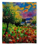 Poppies And Daisies 560110 Fleece Blanket