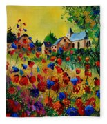 Poppies Sosoye Fleece Blanket