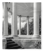 Popp's Bandstand_new Orleans City Park Fleece Blanket