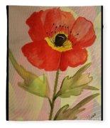 Poppy Art 17-01 Fleece Blanket
