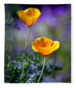 Poppy Ballet Fleece Blanket