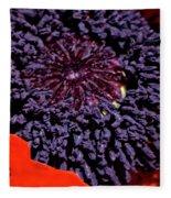 Poppy Inside Fleece Blanket