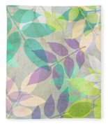 Poppy Shimmer IIi  Fleece Blanket