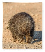 Porcupine Walking Fleece Blanket