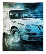Porsche Carrera Rsr, 1973 - 23 Fleece Blanket