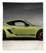 Porsche Cayman R Fleece Blanket