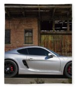 Porsche Need For Speed Fleece Blanket