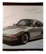 Porsche Fleece Blanket