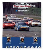 Porsche Turbo Cup 1988 Fleece Blanket