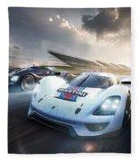 Porsche Vision Gt Concept Fleece Blanket