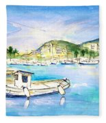 Port Andratx 01 Fleece Blanket