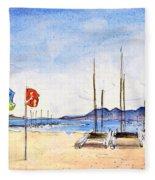 Port De Pollenca 02 Fleece Blanket