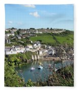 Port Isaac 1 Fleece Blanket