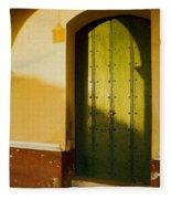 Porte Verte Fleece Blanket