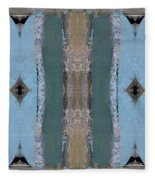 Portico Column II Fleece Blanket